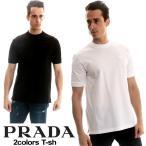 プラダ PRADA Tシャツ 半袖 クルーネック 胸ロゴ メンズ トップス PRUJN452XGS ブランド