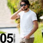 モンクレール MONCLER Tシャツ 半袖 クルーネック トリコロールリブ ブランド メンズ MC801990087296 Tshirts