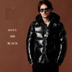 モンクレール ダウン メンズ MONCLER ダウンジャケット ナイロン パーカー フード MAYA マヤ ブランド アウター ブルゾン 黒 MCMAYA9