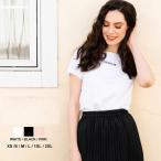 モンクレール レディース Tシャツ MONCLER ロゴ 刺繍 クルーネック 半袖 ブランド トップス コットン MCL8C7A610829FB