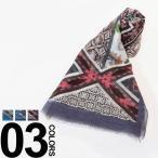 エトロ ETRO リネン混 ストール ブランド メンズ ペイズリー 11177-5120 スカーフ 麻