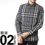 バーバリー BURBERRY シャツ バーバリー チェック 長袖 カジュアルシャツ ブランド メンズ BB4557598 メンズ ブランド