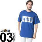 エムエスジーエム MSGM  BOXロゴプリント クルーネック 半袖 Tシャツ MS2240MM67