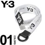 Y-3 ワイスリー ベルト ロゴ Dリング ナイロンベルト YOHJI BELT ブランド メンズ Yohji Yamamoto ヨウジヤマモト Y3DY0521