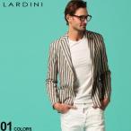 ラルディーニ メンズ ジャケット LARDINI ストライプ