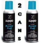 Zippo 2 Large Zippo Blu Butane Refills for Lighters (2 Cans of 5.82oz each) 正規輸入品