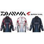 ダイワ スペシャル アイスドライ ジップアップ 長袖 メッシュシャツ DE-7006 /M/L/XL 鮎 ウェア