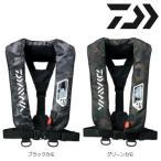 ダイワ ウォッシャブル ライフジャケット(肩掛けタイプ手動・自動膨脹式)DF-2007 カモ