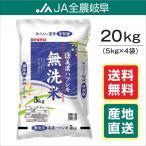 米 お米 無洗米 20kg 美濃ハツシモ 岐阜県産 令和元年産 (5kg×4袋)  送料無料(一部地域を除く)