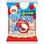 白い風船【チョコクリーム】  18枚入 1袋 亀田製菓(株)
