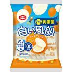 白い風船【ミルククリーム】  18枚入 1袋 亀田製菓(株)