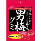 男梅グミ 38g入×6個 ノーベル製菓(株)