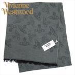 ヴィヴィアン・ウエストウッド マフラー グリーン系 イタリー製 1066-GE-M201 ギフト プレゼント クリスマス