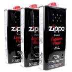 【お得品】 zippo ジッポー 純正オイル 大缶 355ml 3本セット
