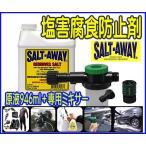 塩害腐食防止/ソルトアウェイ SALT-AWAYミキサー&原液セット/ウェット釣り●ソルト2