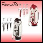 ゴルフキャディバッグ RomaRo  ロマロ SLIM TYPE Caddie Bag & HEAD COVER SET -Emboss- スリムタイプキャディバッグ&ヘッドカバーセット エンボス