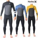 Hurley(ハーレー) ウェットスーツ メンズ チェストジップ 3×2mm フルスーツ ウエットスーツ サーフィンウェットスーツ Hurley Wetsuits