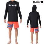 Hurley(ハーレー) ラッシュガード メンズ 長袖 フード付き ラッシュガード ルーズフィット ONE&ONLY(ワンアンドオンリー)モデル Hurley Rashguard