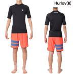 Hurley(ハーレー) ラッシュガード メンズ 半袖 ラッシュガード スリムフィット PRO LIGHT TOP(プロ ライト トップ)モデル Hurley Rashguard