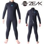 ZEAK(ジーク) ウェットスーツ キッズ 子供用 3×2mm フルスーツ サーフィン ウエットスーツ ZEAK WETSUITS