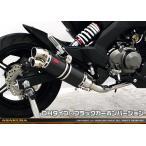 Z125 PRO(プロ)BR125H DDRタイプマフラー DHタイプ ブラックカーボンバージョン フルエキゾースト ASAKURA(浅倉商事)