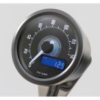 【セール特価】VELONA 電気式スピードメーター 140km/h ブラックボディ ホワイトLED DAYTONA(デイトナ)