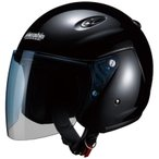 M-400 ジェットヘルメット ブラック フリーサイズ(57〜60cm未満) Marushin(マルシン)