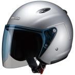 M-400 ジェットヘルメット シルバーフリーサイズ(57〜60cm未満) Marushin(マルシン)