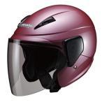 M-520 セミジェットヘルメット ローズメタリック フリーサイズ(57〜60cm未満) Marushin(マルシン)