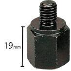 マジェスティS(MajestyS)SG28J ネジ径変換アダプター(車体8mm→ミラー10mm)2個セット YAMAHA(ヤマハ純正)
