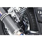 SR400(FI車) タンデムステップ プレートキット OVER(オーバーレーシング)