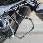 Yahoo!バイク用品・パーツのゼロカスタム【セール特価】XLスポーツスター(04年〜) バッグサポート DHW ブラックパウダーコート 左側用 KIJIMA(キジマ)