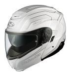 IBUKI(イブキ)ENVOY(エンヴォイ)パールホワイト Mサイズ(57-58cm)システムヘルメット OGK