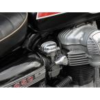 W650 キャブレタートップカバーRounded Fin単品(FORK) MOTORROCK(モーターロック)
