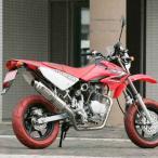 POWER MINI ダウンタイプマフラーB ダウン/アップ オーバルステン ストリート STRIKER(ストライカー) XR100