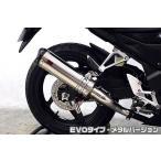 CB250F(14〜) TTRタイプスリップオンマフラー EVOタイプ メタルバージョン ASAKURA(浅倉商事)