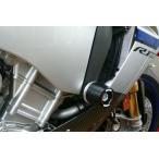 YZF-R1/M(15年) レーシングスライダー フレーム ロゴ無 ジュラコン/ブラック AGRAS(アグラス)