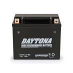 【セール特価】Ninja400R(ニンジャ)10年〜 ハイパフォーマンス メンテナンスフリー バッテリー DYTX12-BS(YTX12-BS互換) DAYTONA(デイトナ)