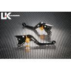 V-MAX1200 スタンダードタイプ ショートアルミビレットレバーセット(ブラック) U-KANAYA