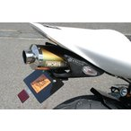 CBR1000RR(04〜07年) フェンダーレスキット 小型ウィンカー仕様 平織りカーボン クリア A-TECH(エーテック)