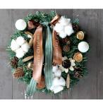 クリスマスリース おしゃれ デコレーション オーナメント 玄関 部屋 飾り 壁掛け ピンク 華やか 可愛い おしゃれ 正月飾り 新年飾り