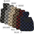 【フロアマット】ボルボ VOLVOV40 MB41#_MB52#リヤセンター付 年式:2013/2〜 ビッグチェックシリーズ