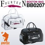 FOURTEEN フォーティーン BB0207 メンズ ボストンバッグ サイドポケット付き 2016年モデル