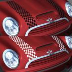 MINI(ミニ) R55/R56 ボンネットストライプ チェッカー 全2色  「CLOS」クロス