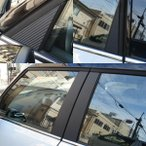 Yahoo!モタスポと雑貨のゼウスジャパンMINI R60 カーボンスタイルピラーガーニッシュセット 「CLOS」クロス