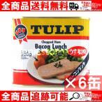 TULIP チューリップ ベーコンランチ うす塩味 ×6缶  沖縄 土産 通販 送料無料