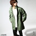 ミリタリーコート メンズ M-65 フィールドジャケット ビッグシルエット ワイド 長袖 ミリタリー ファッション (br8053)