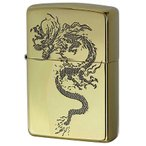 Zippo ジッポ ジッポー ライター 和柄 龍 Japanese pattern Dragon 2BS-WDR1 メール便可