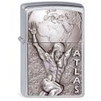 Zippo ジッポ ジッポー ライター ヨーロッパ直輸入 Atlas 2003184