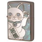 Zippo ジッポ ジッポー ライター SHELL LUCKY CAT シェル ラッキーキャット 1201S687 RPK